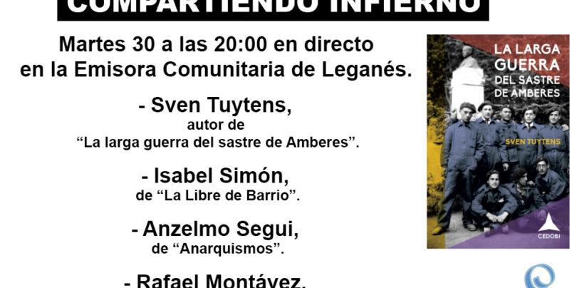 Compartiendo Infierno con Sven Tuytens, Isabel Simón y Anzelmo Segui