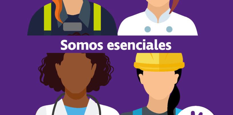 Leganés conmemora el 8 de marzo agradeciendo la labor esencial de las mujeres durante la pandemia