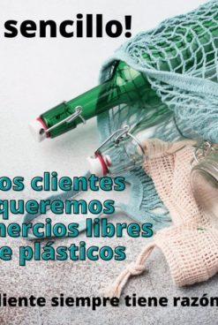 Comercio sin plásticos