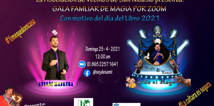 Gala Familiar de Magia por Zoom