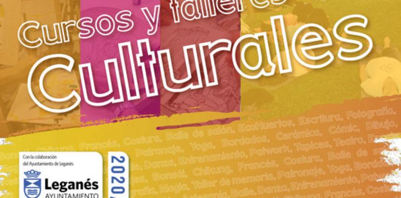 Cursos y Talleres culturales de Leganés