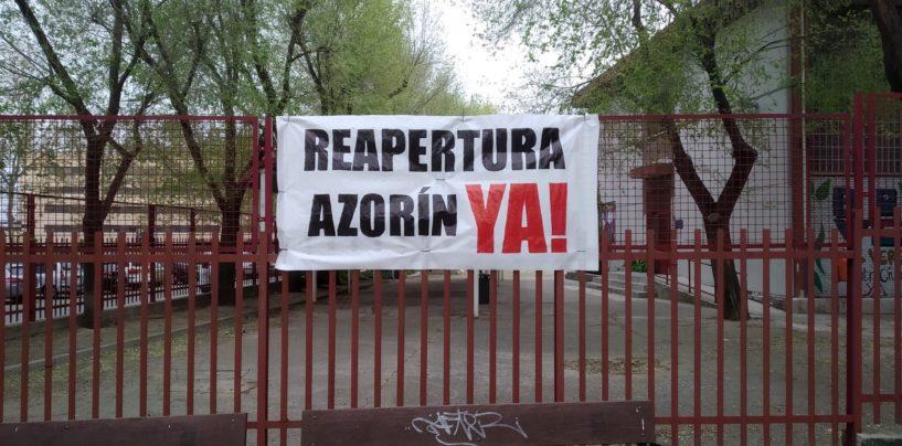 Comunicado: Por la apertura del Centro Municipal Azorín