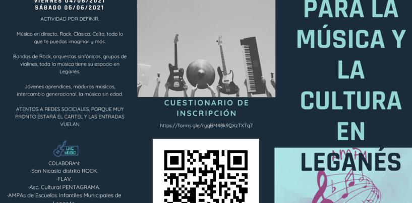 Un mes para la música y la cultura en Leganés