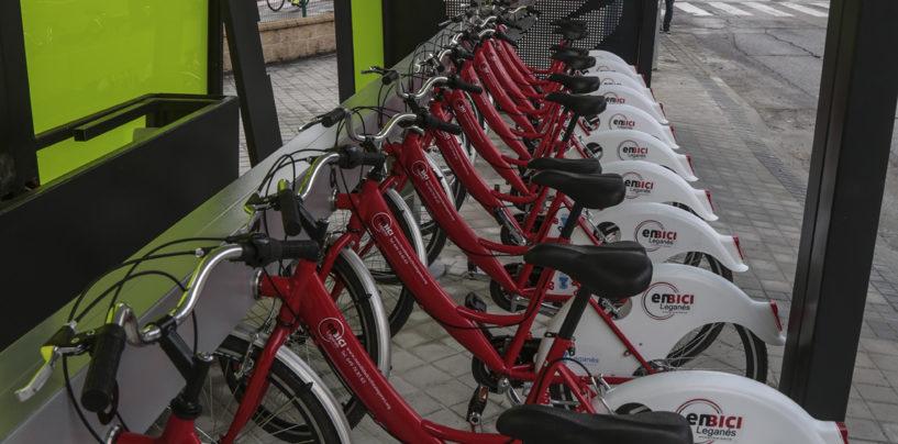 El servicio municipal Enbici retoma la actividad con 45 bicicletas nuevas para impulsar la movilidad sostenible en Leganés