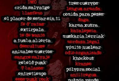 Festival Internacional Punk On Line: Futuro ke futuro, III edición
