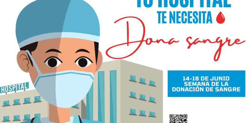 El Ayuntamiento de Leganés anima a los ciudadanos a donar sangre para ayudar a cubrir las necesidades hospitalarias