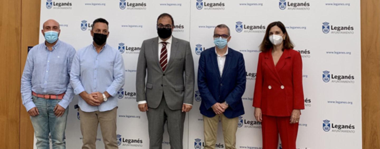 PSOE y Ciudadanos sellan un acuerdo para formar el nuevo Gobierno local de Leganés