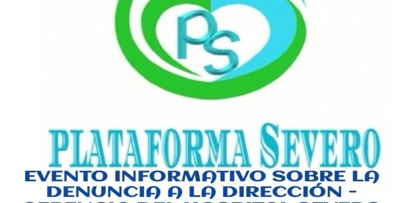 Evento informativo sobre la denuncia a la dirección-gerencia del Hospital Severo Ochoa