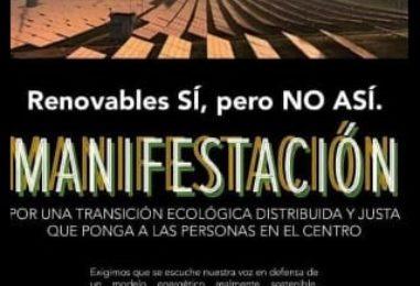 MANIFESTACIÓN Que nos oigan en Madrid