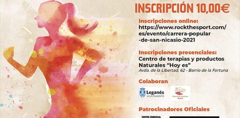 43 Carrera Popular San Nicasio – 12 de octubre contra la violencia machista