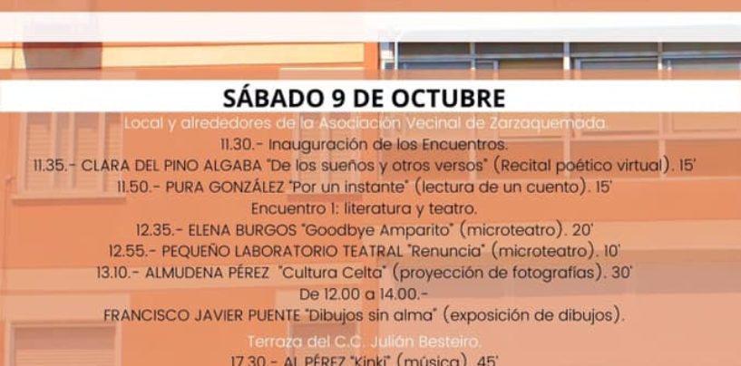 Visibles. I Encuentro de Cultura Leganense, 9 y 10 de octubre.
