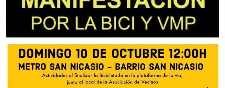 Bicicletada: 10 de octubre de 2021