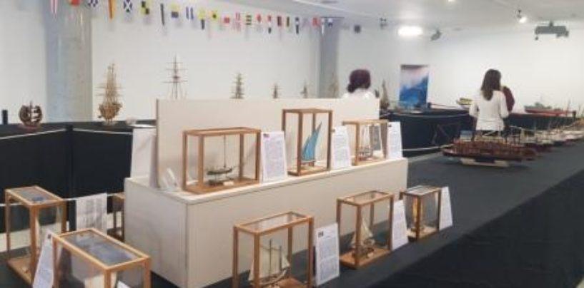 La exposición 'Modelismo y acción' puede visitarse en la Sala Saramago hasta el próximo 21 de noviembre